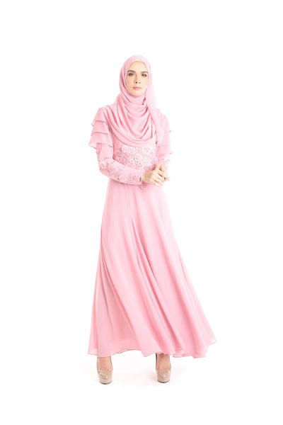 Dress D'YANA Rosanda - DRS00012-D - Dusty Pink