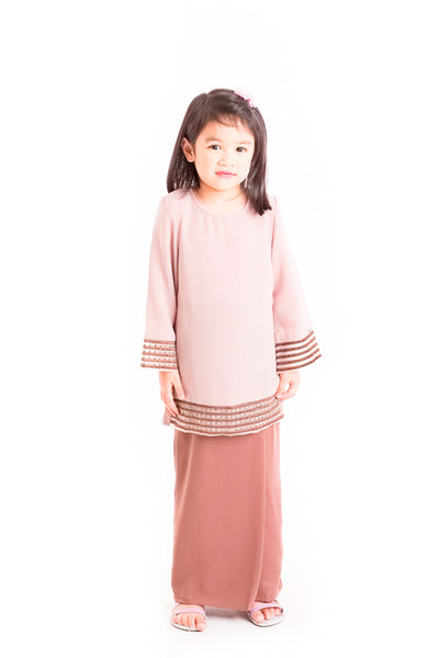 Baju Kurung D'YANA Dana Kids - Brown