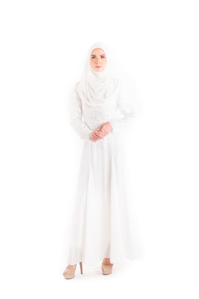 Dress D'YANA Rosanda - DRS00012-D - White