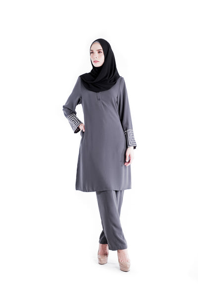 Suit D'YANA Riley - JS3036-D - Grey