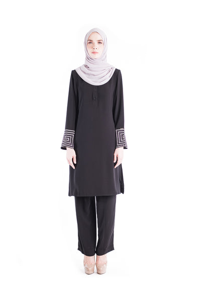 Suit D'YANA Riley - JS3036-D -Black