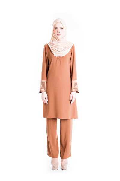 Suit D'YANA Riley - JS3036-D - Brown
