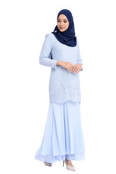 Dress D'YANA Savanna - DRS00018-D - Dusty Blue