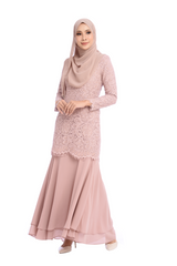 Dress D'YANA Savanna - DRS00018-D - Dusty Pink