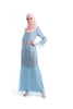 Baju Kurung D'YANA Aviana - BJK 1401-D - Light Blue