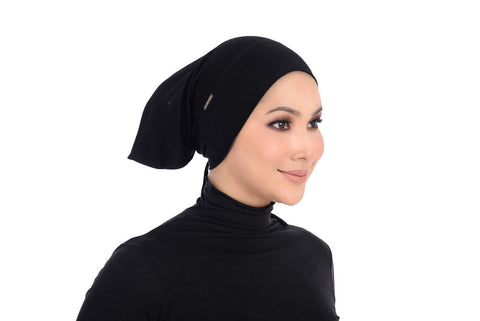 Tie-Back Inner Erva - AT1021-D - Black
