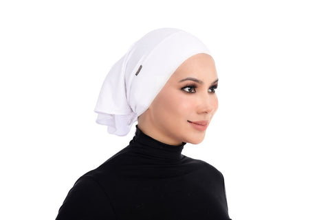 Tie-Back Inner Erva - AT1021-D - White