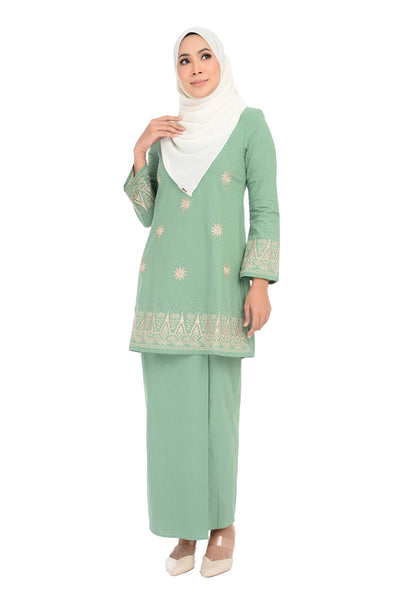 Baju Kurung D'YANA Avalyn - BJK20103 - Green