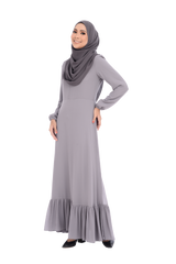Dress D'YANA Cherise - DRS00026-D - Grey