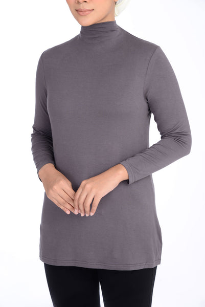 Inner Turtle Neck D'YANA - BL60030 - Grey