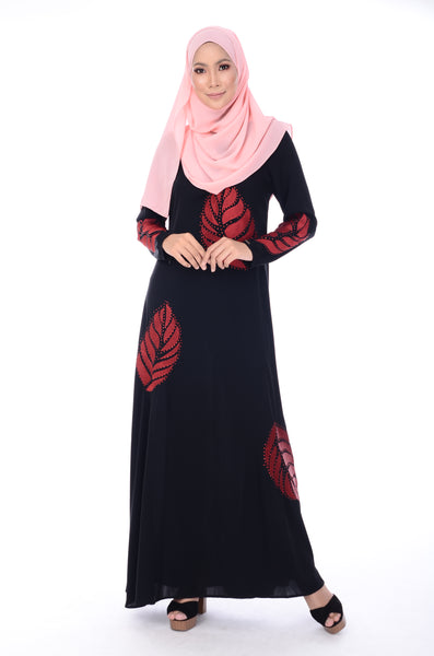 Jubah D'YANA Hayley - JBH8317 - Red
