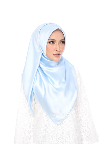 Shawl D'YANA Qisya - 1397T-D - Light Blue
