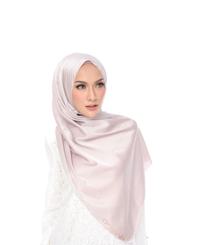 Shawl D'YANA Adora - 1398T-D - Light Coffee