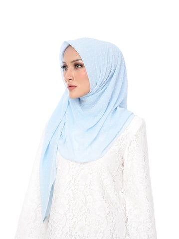 Shawl D'YANA Selma - 1432T-D - Light Blue