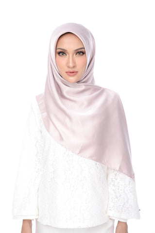 Shawl D'YANA Anne - 1400T-D - Light Coffee