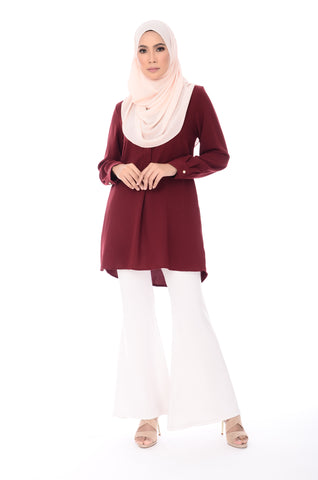 Blouse Faith - BL20023 - Maroon