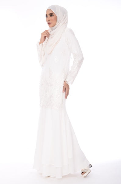 Dress Meredith - DRS33725-1-D - White
