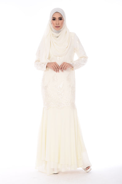 Dress Meredith - DRS33725-1-D - Cream