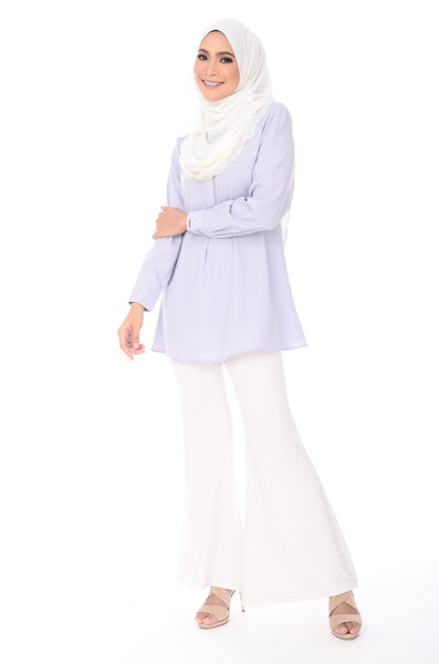 Blouse Maddy - BL356-D - Light Blue