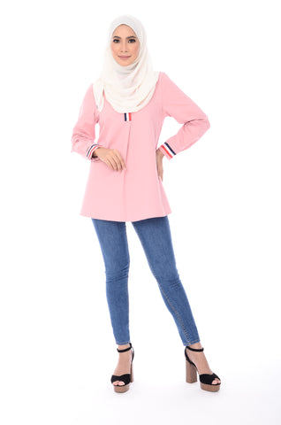Blouse D'yana Dakota - BL60022-D - Light Pink