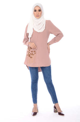 Blouse Isra - BL352-D - Nude