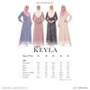 Dress D'Yana Keyla - DRS00016 - Dusty Pink
