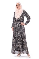 Dress D'Yana Keyla - DRS00016 - Black