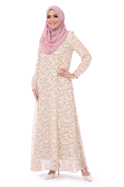 Dress D'Yana Keyla - DRS00016 - Cream