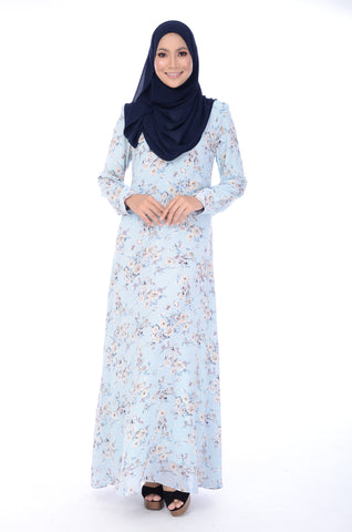 Dress D'Yana Keyla - DRS00016 - Light Blue