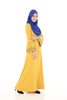 Jubah Lathifa - JBH8255 - Egg Yellow