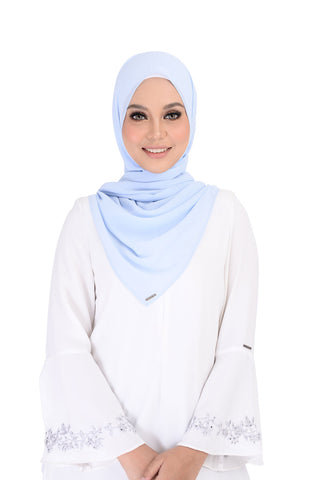 Shawl D'yana Asterin - 7005 - Light Blue