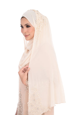 Veil D'YANA Marie - TDG70016 - Light Brown