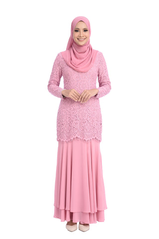 Dress D'YANA Savanna - DRS00018-D - Pink