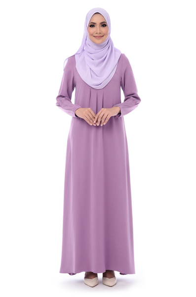 Jubah D'YANA Kelsey - JBH8337 - Light Purple