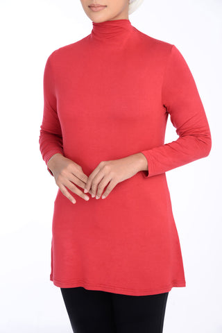 Inner Turtle Neck D'YANA - BL60030 - Red