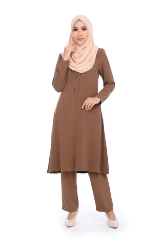 Suit D'YANA Evie - BJK3082-D - Brown