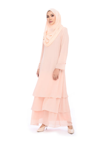 Dress D'YANA Sienna - DRS00019 - Peach