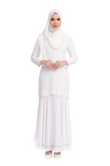 Dress D'YANA Savanna - DRS00018-D - White