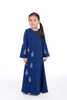 Jubah D'YANA Carina Kids - JBH8352XS – Royal Blue