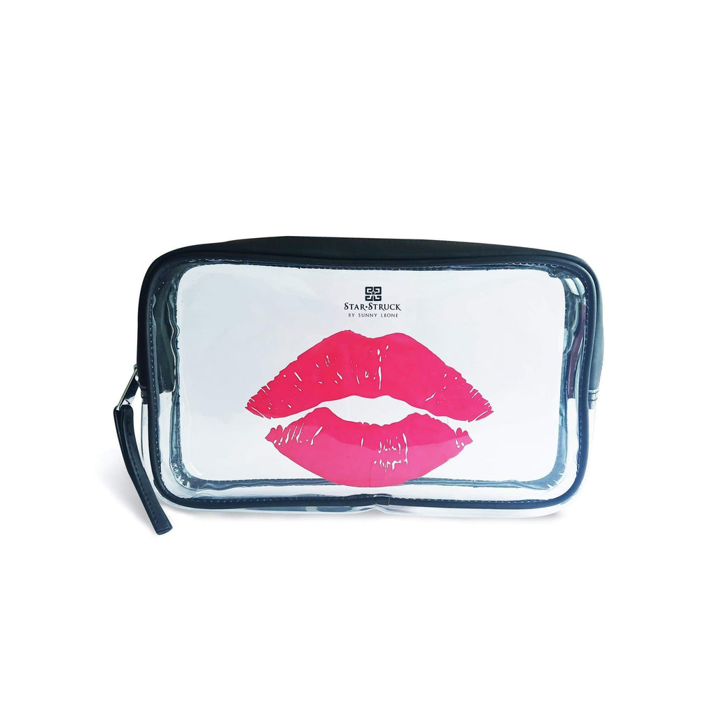 Starstruck Makeup Pouch - Transparent - Sunny Leone