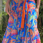 GRETCHEN SCOTT MAXI PALM SKIRT - LILIS BOUTIQUE