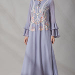 VARUN 30 PERSIAN BLUE KAFATAN - LILIS BOUTIQUE