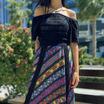 CECELIA PRADO DIONE BLACK SKIRT - LILIS BOUTIQUE