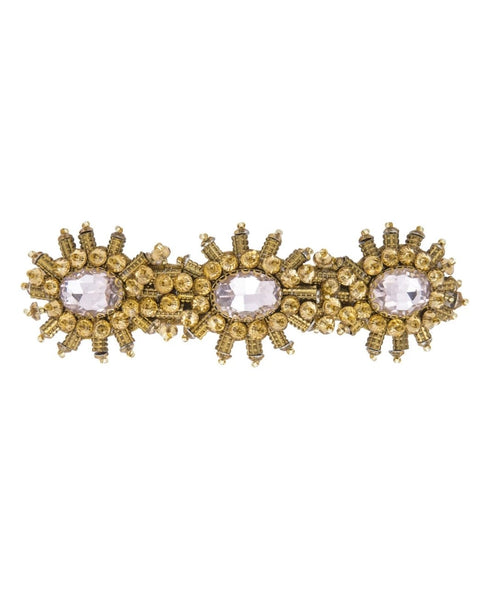 DEEPA GURNANI ANSLEY BARRETTE GOLD ACCESSORIES