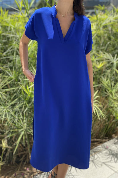 TOUPY DIANA BLUE DRESS SALE