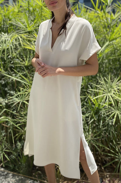 TOUPY DIANA WHITE DRESS SALE
