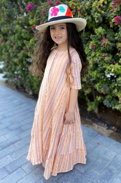 FLONT MAXI 01 PEACH KIDS - LILIS BOUTIQUE