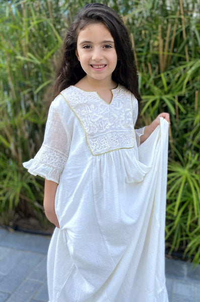 FLONT MAXI 02 WHITE KIDS - LILIS BOUTIQUE