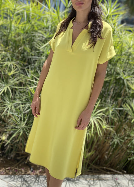 TOUPY DIANA YELLOW DRESS