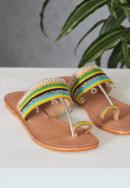 STARMELA YELLOW SANDAL - LILIS BOUTIQUE